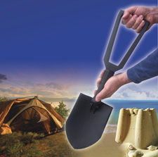 Heavy Duty Foldable Camping / Beach Shovel