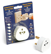 Travel Plug Adaptor for visitors to the UK