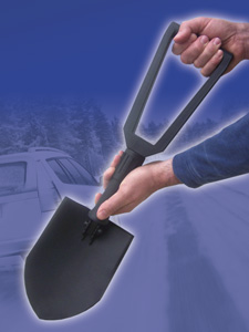 Heavy Duty Foldable Snow Shovel