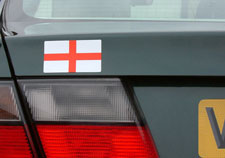 Magnetic St George's Flag